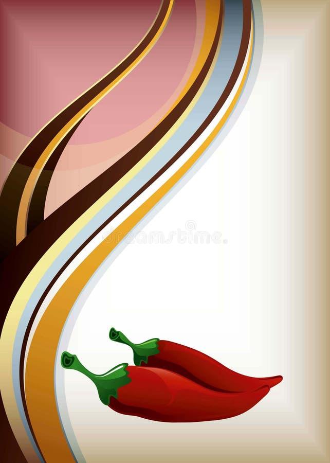 Paprika stock abbildung