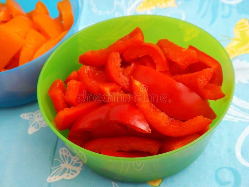 Download Paprika fresca foto de archivo. Imagen de cooking, rojo - 41907432