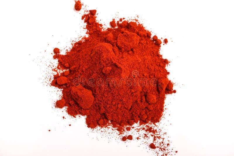 Paprika Powder lizenzfreies stockbild