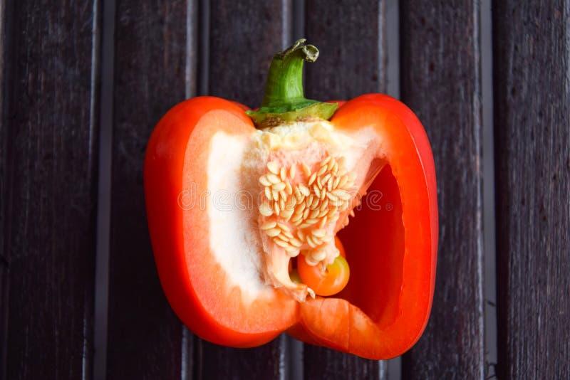 Paprika vermelha imagens de stock