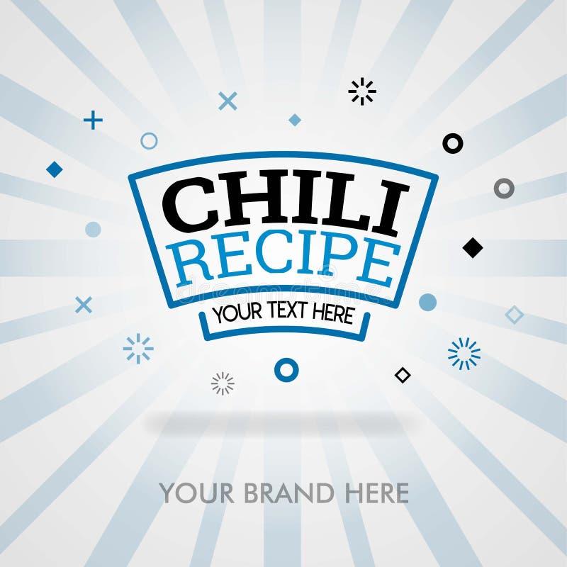 Paprikarezept in Amerika bestes Deckblatt des Paprikas, das Buch kocht bestes Paprikarezept kann für Förderung, Werbung, Marketin lizenzfreie abbildung