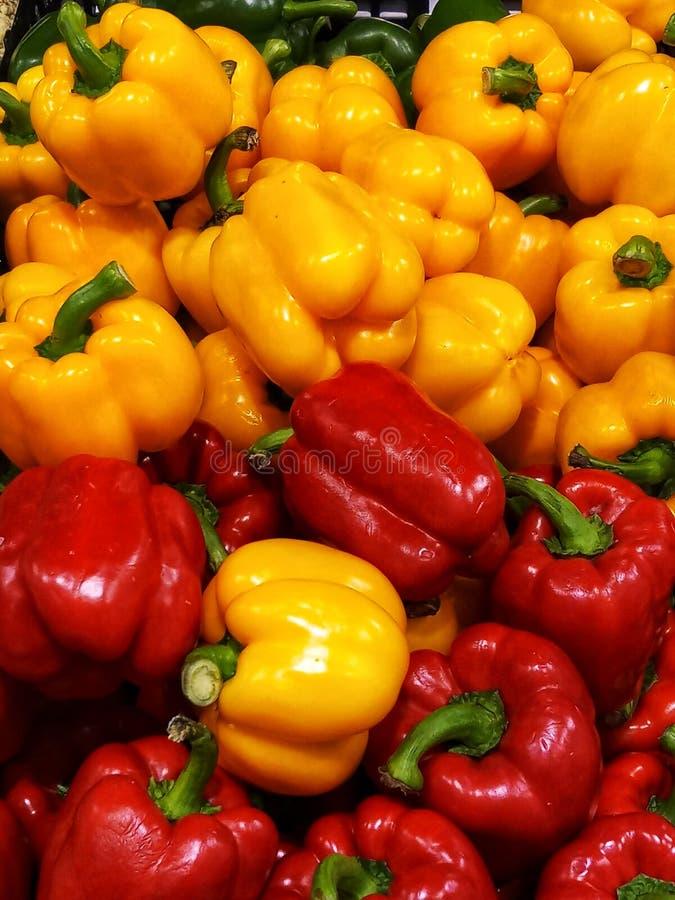 Paprikas color?s photo libre de droits