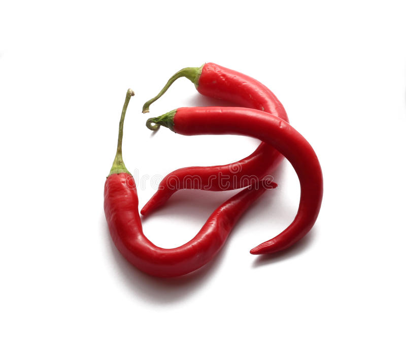 Paprikas des roten Pfeffers stockfoto