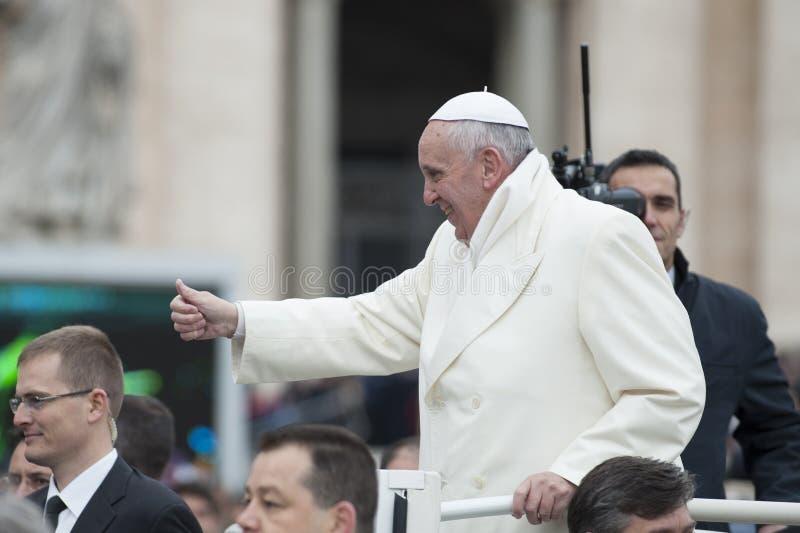 Papst Francis lizenzfreie stockbilder