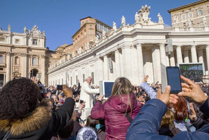 Papst Francis I stockbilder