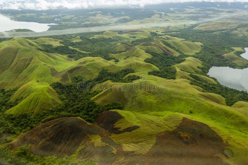 Papua, Jayapura Sentani jezioro fotografia stock