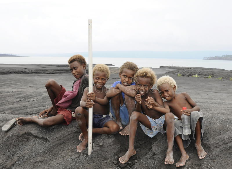 Papua New Guinea People stock photo