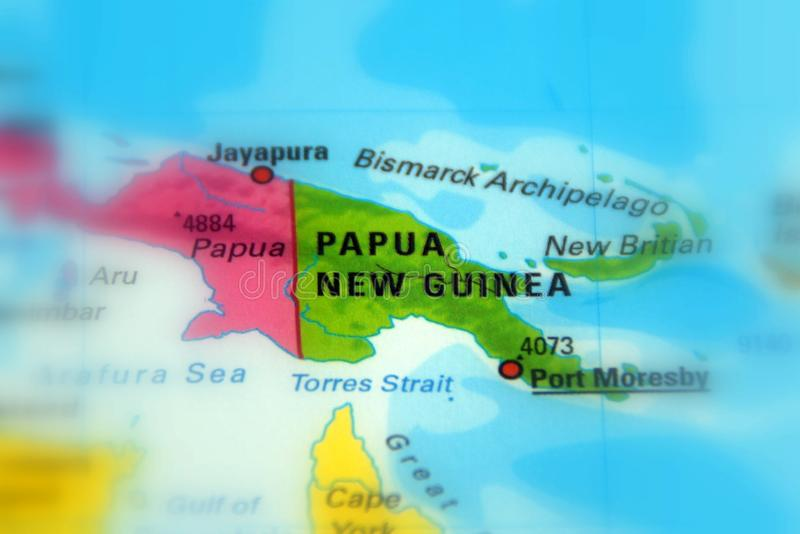 Papua New Guinea PNG, officially the Independent State of Papua New Guinea. Papua New Guinea PNG, officially the Independent State of Papua New Guinea selective stock image