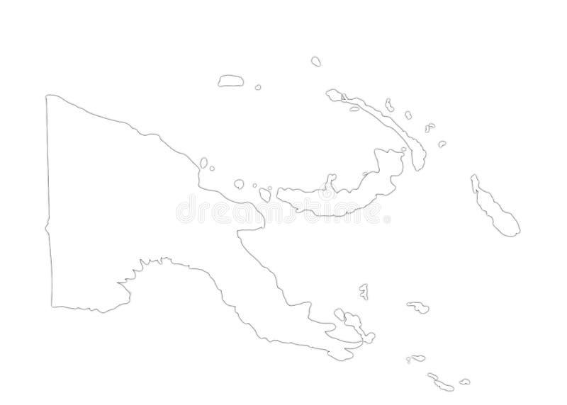 Papua nuova guinea fotografia stock libera da diritti