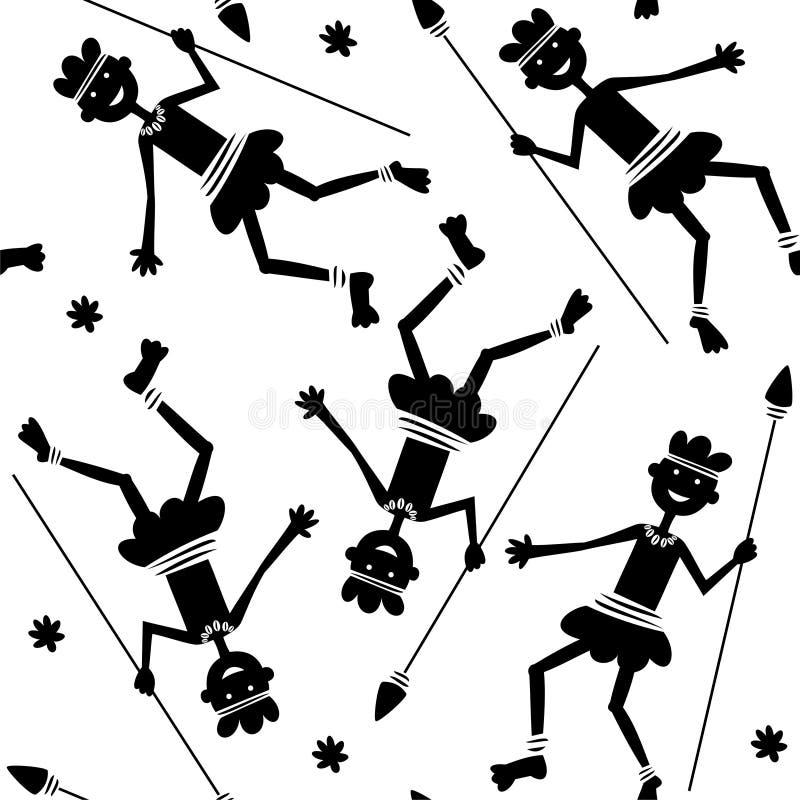 papuan royalty ilustracja