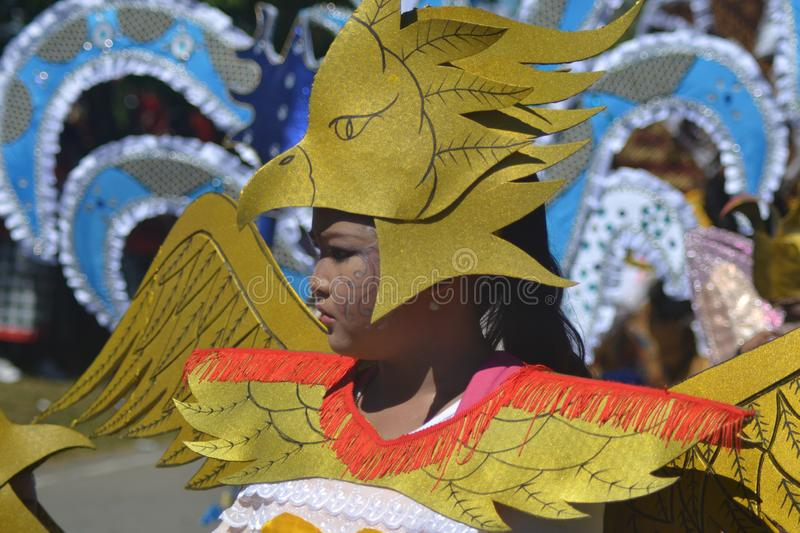 PAPUAN CARNIVAL INDONESIA INDEPENDANCE DAY royalty free stock images