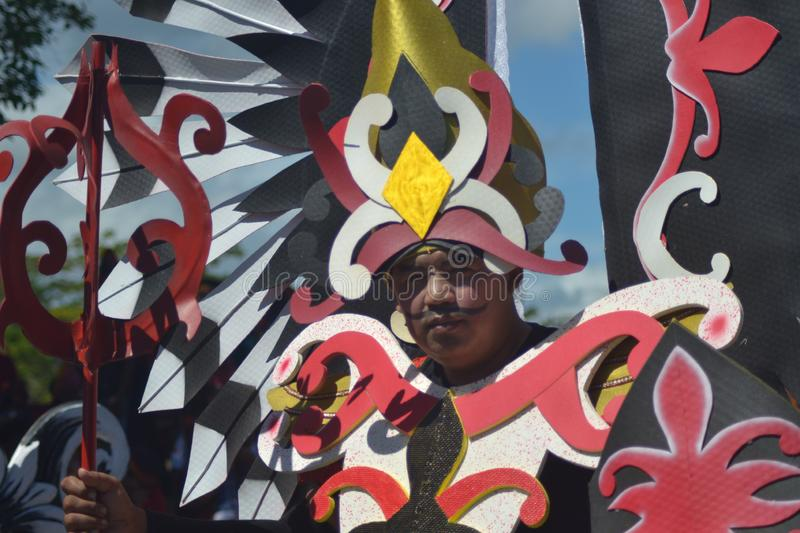 PAPUAN CARNIVAL INDONESIA INDEPENDANCE DAY stock photography