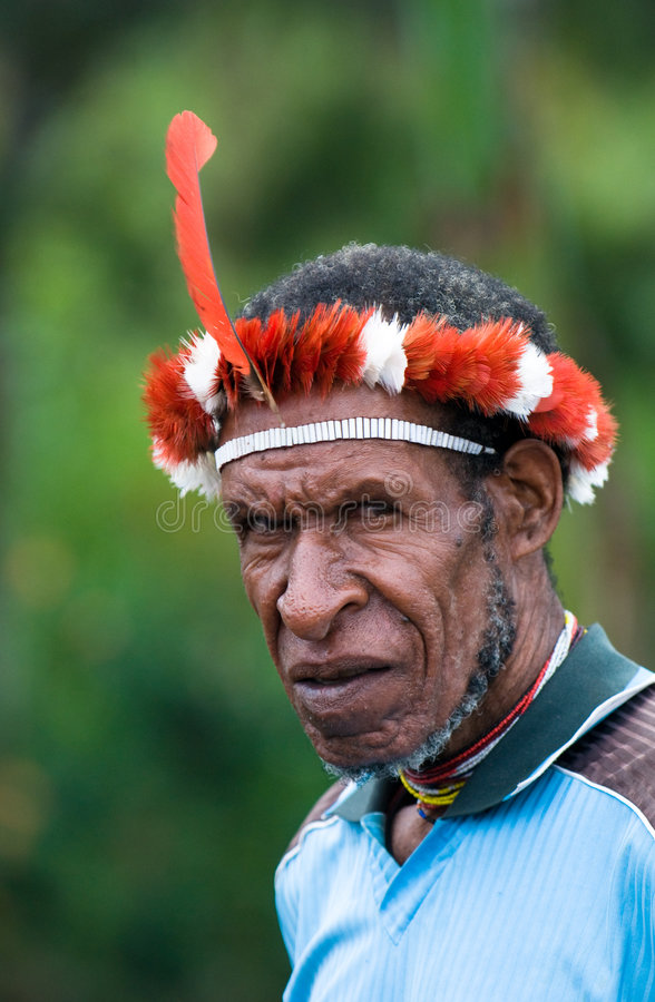 Complex Costume In Papua New Guinea Editorial Photography