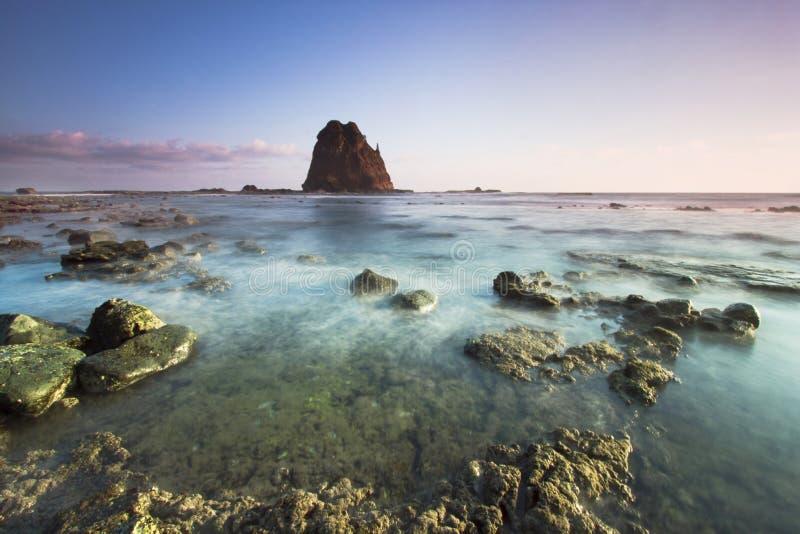 Papuma Beach royalty free stock image