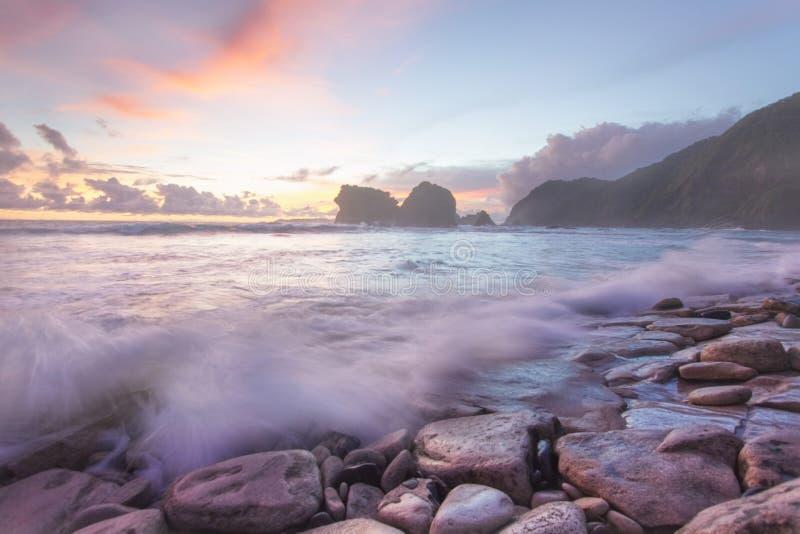 Papuma Beach. stock images