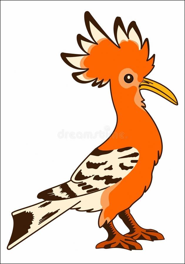 PAPUZI DOMOWY ptak ilustracja wektor