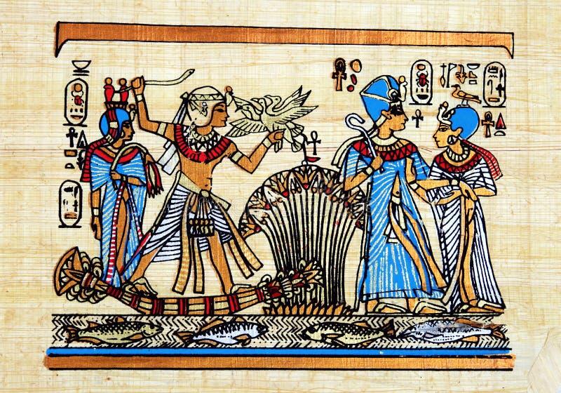 Papyrus égyptien photos stock
