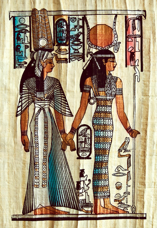 Papyrus lizenzfreie stockfotografie