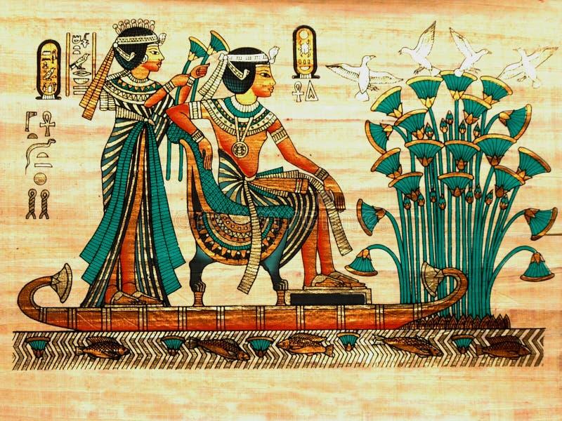 papyrus arkivbild