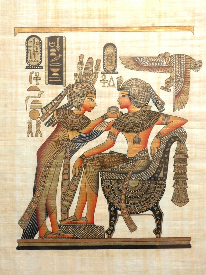 Papyrus stockfoto