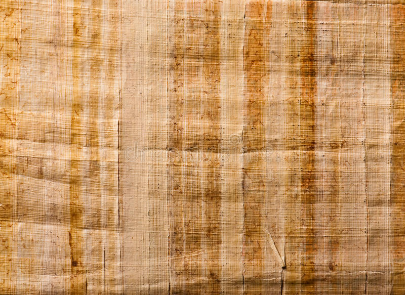 Papyrus 3. Royalty Free Stock Images
