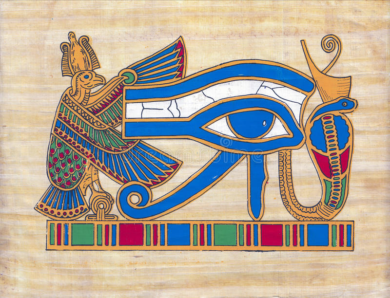 Papyrus stock foto's