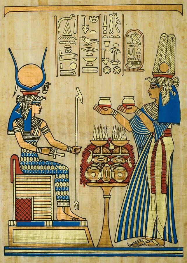 Papyrus stockfotos