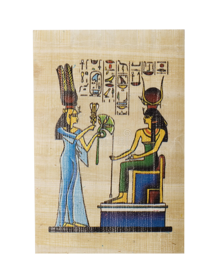 Papyrus royalty-vrije stock foto