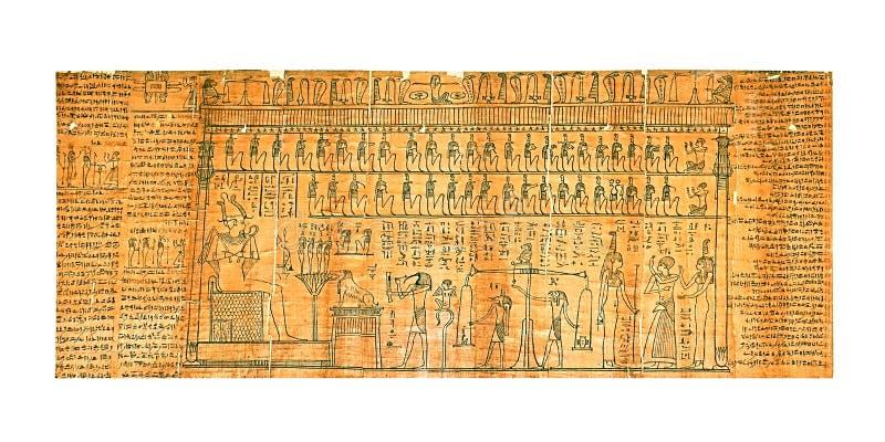 Papyrus stockbilder