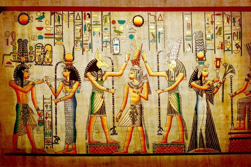 papyrus royaltyfria bilder