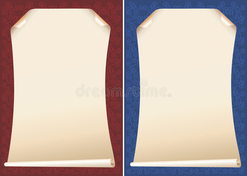 Papyrus backgrounds royalty free illustration