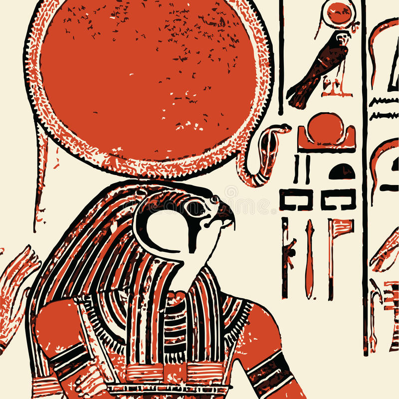 Download Papyrus With Elements Of Egyptian Ancient History Stock Photo - Image: 15918780