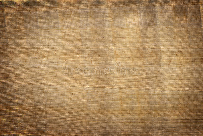 Papyrusdocument textuur stock foto's