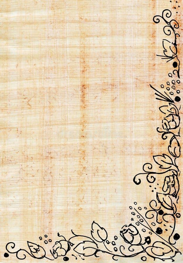 papyrusro stock illustrationer