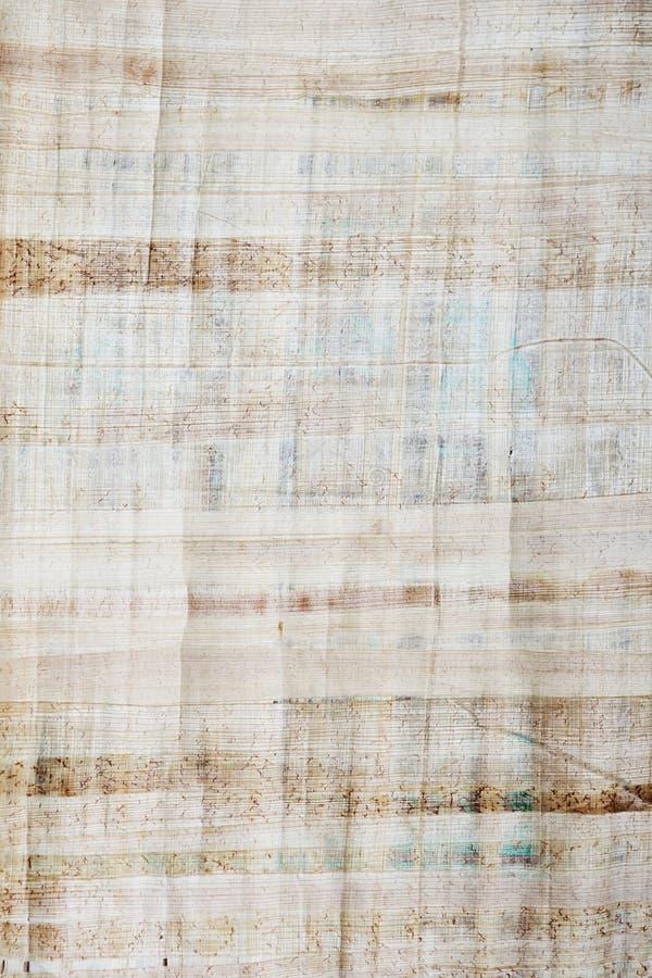 Papyrustexturbakgrund för design arkivfoto