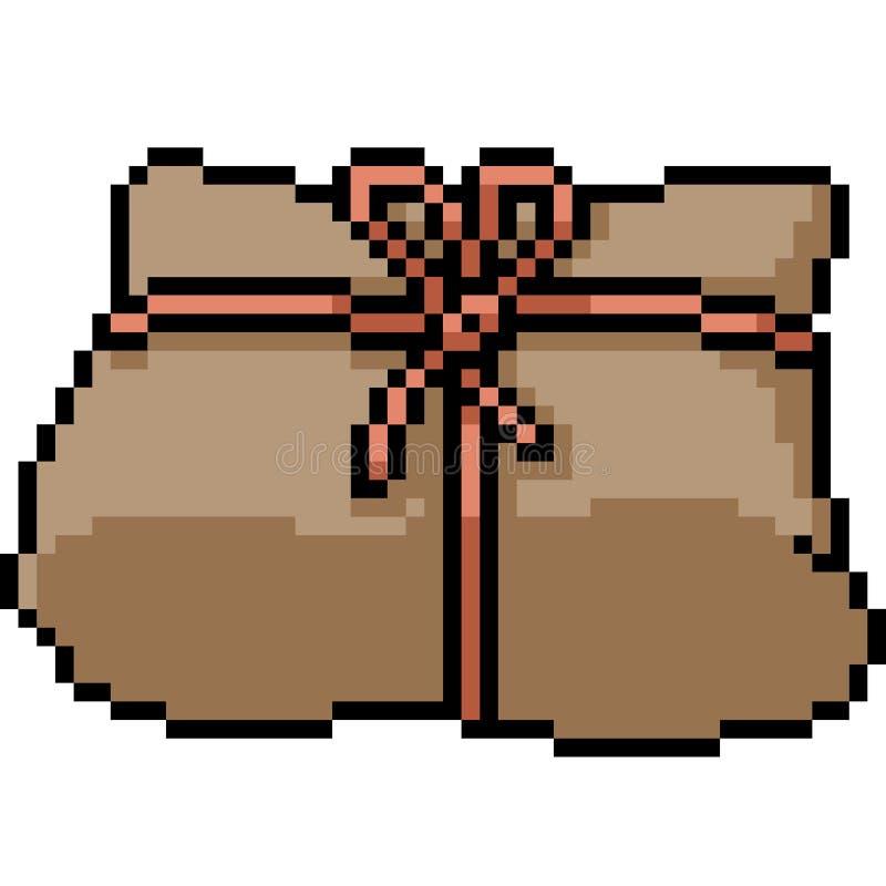 Paquet d'art de pixel de vecteur illustration de vecteur