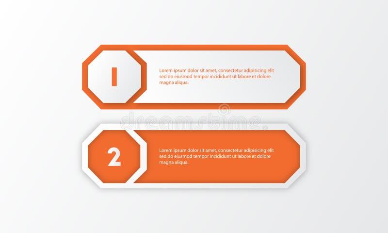 Paquet de calibre d'Infographic réglé pour des présentations d'affaires photos stock