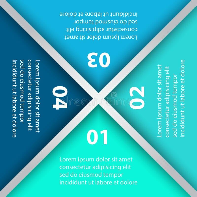 Paquet de calibre d'Infographic réglé pour des présentations d'affaires images stock