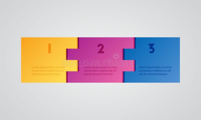 Paquet de calibre d'Infographic réglé pour des présentations d'affaires photographie stock