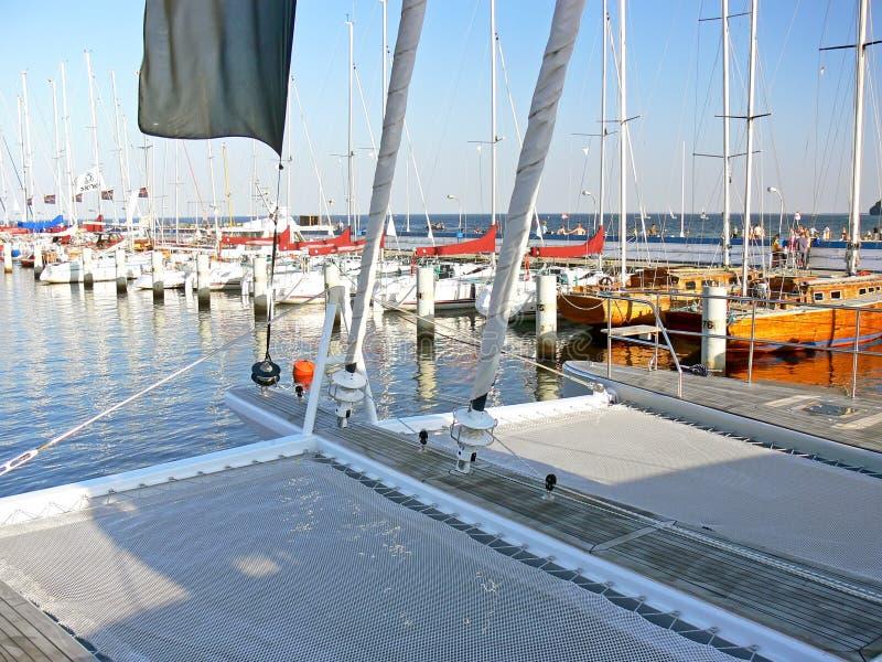 paquet de catamaran images stock