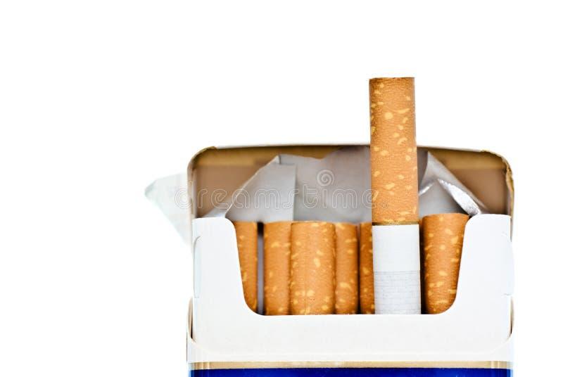 Paquet de cigarettes photographie stock libre de droits