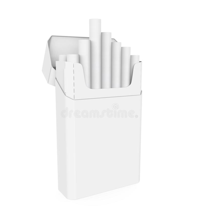 Paquet de cigarettes illustration de vecteur
