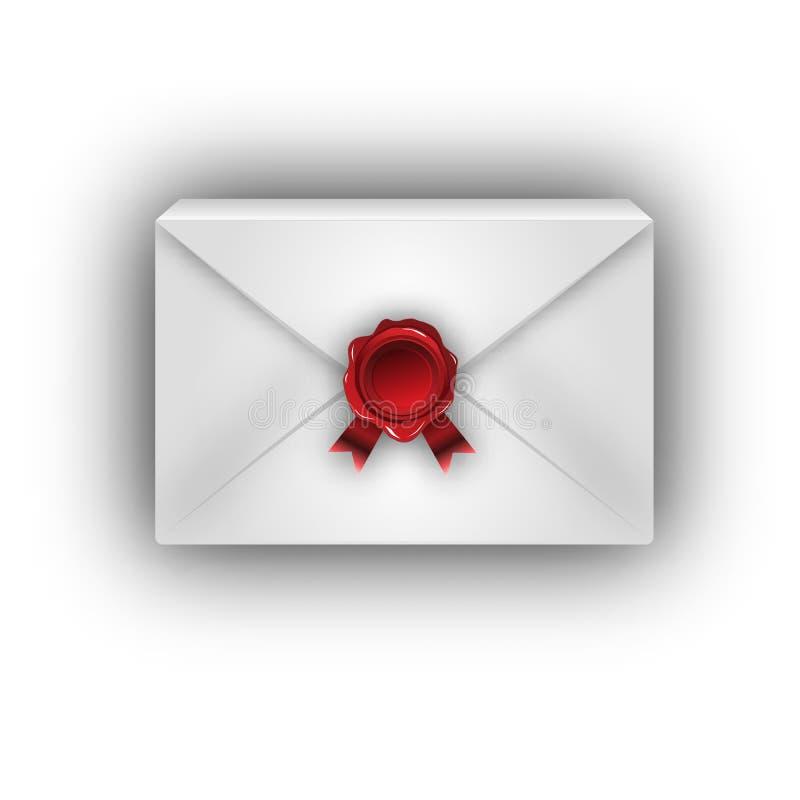Paquet de courrier de boîte illustration libre de droits