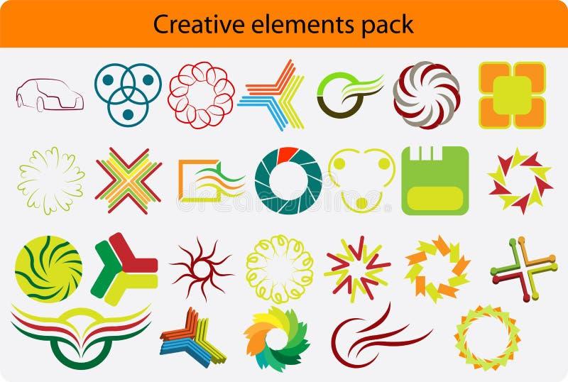 Paquet de Logotype illustration de vecteur
