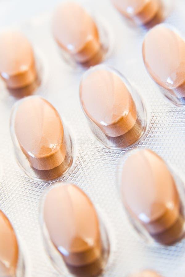 Paquet de pillules médicales image libre de droits