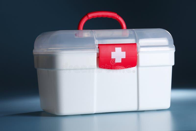 Paquet de premiers secours image stock