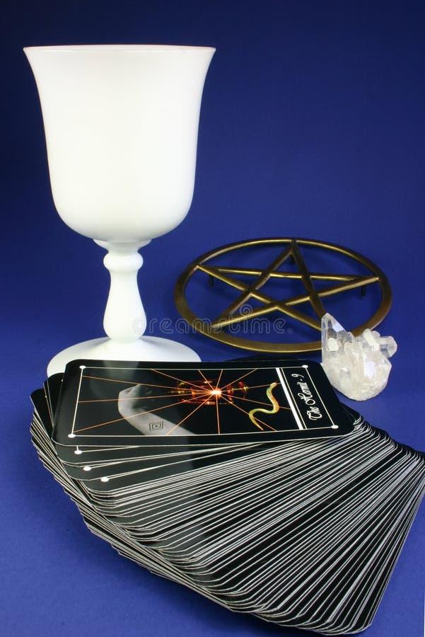 Paquet de Tarot image stock