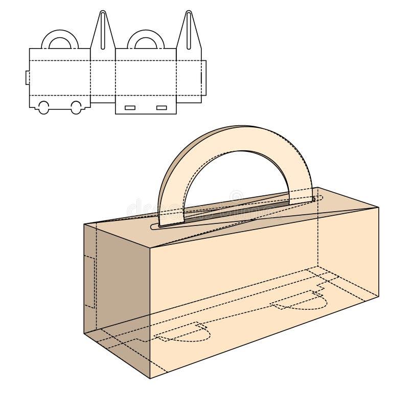 Paquet se pliant 30 illustration de vecteur