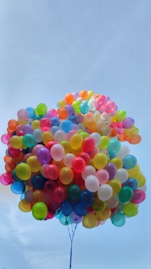 Paquete de globos foto de archivo