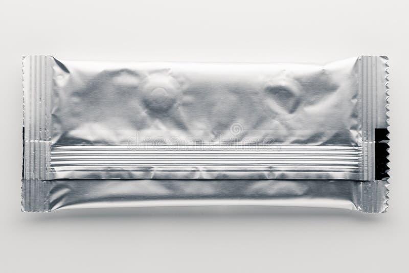 Paquete de la hoja del vacío con las píldoras foto de archivo